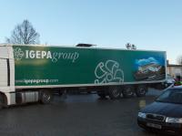 Polep kamionu 2
